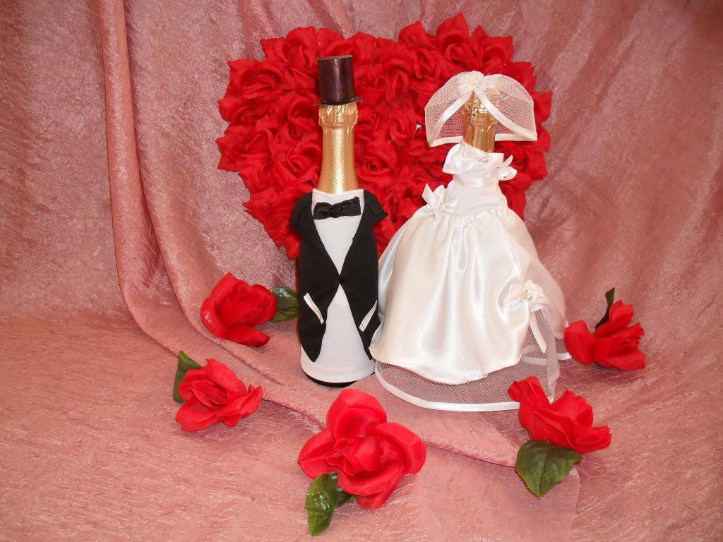 Костюм для шампанского жених и невеста своими руками 10